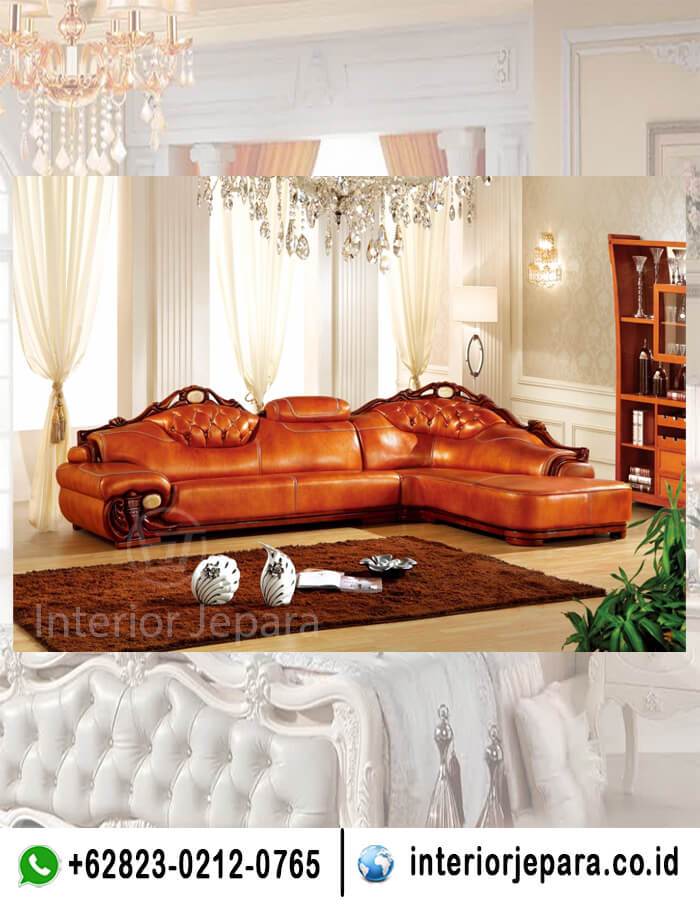 sofa sudut china elegan