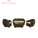 Sofa Tamu Rotan Telor Interior