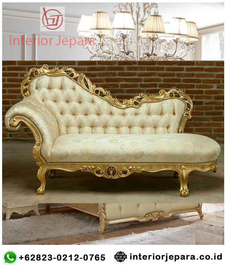 Sofa Bangku Ukiran Gold Interior
