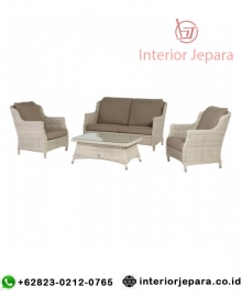 Sofa Tamu Rotan Outdoor